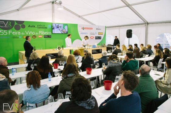 CATAS E SHOWCOOKINGS NA 56ª FEIRA DO VIÑO DO RIBEIRO